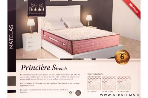matelas Dolidol PRINCIERE STRETCH