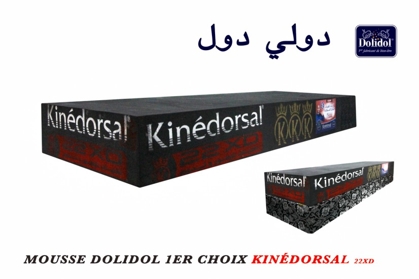 mousse dolidol kinédorsal