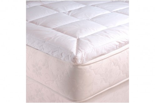 surmatelas simmons duvet diamond