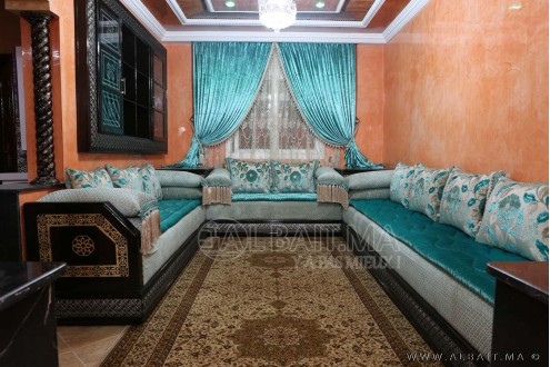 salon marocain traditionnel model 8