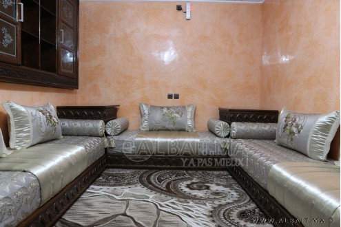 salon marocain traditionnel model 9